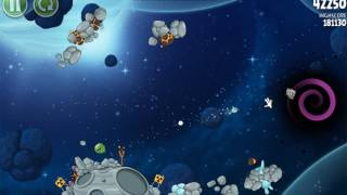 QSPX - Angry Birds Space (All bosses) part 3 FINAL BOSS By Alex
