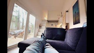 So lebt es sich im TINY HOUSE - Die ersten 4 Monate + ROOM TOUR  I Max Green
