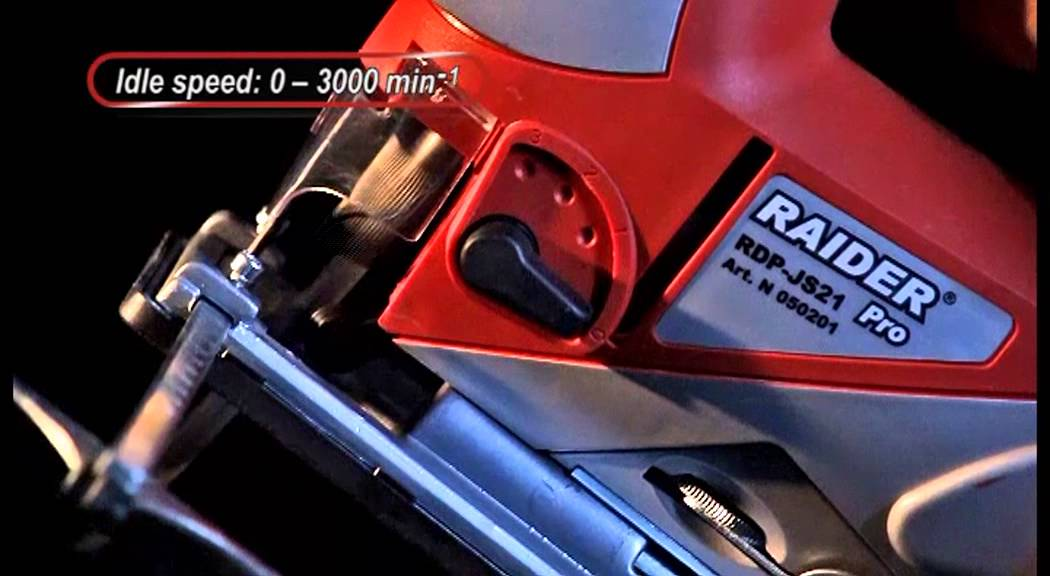 Raider Power Tools Jig Saw Rdp Js21 Youtube