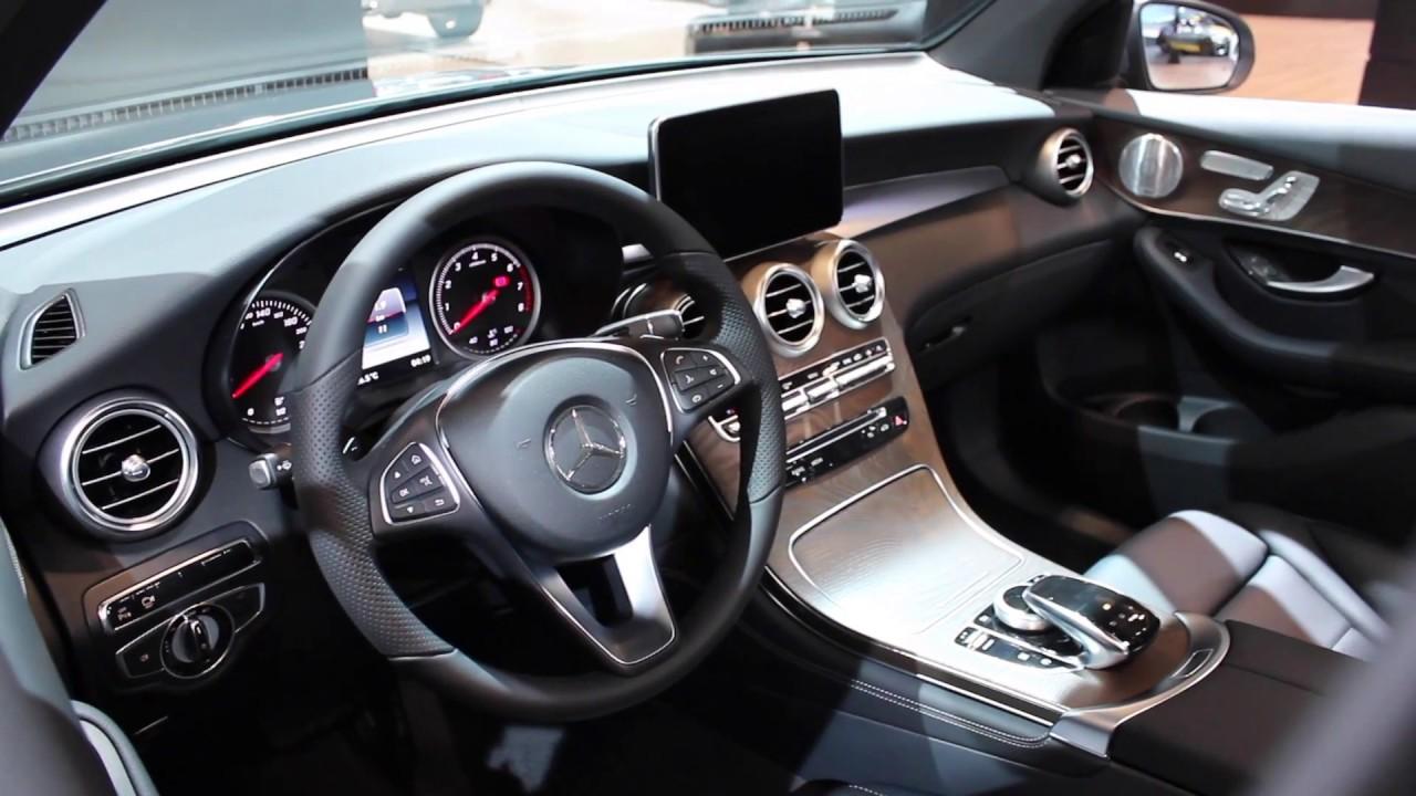 2016 mercedes benz glc 300 quick look interior exterior