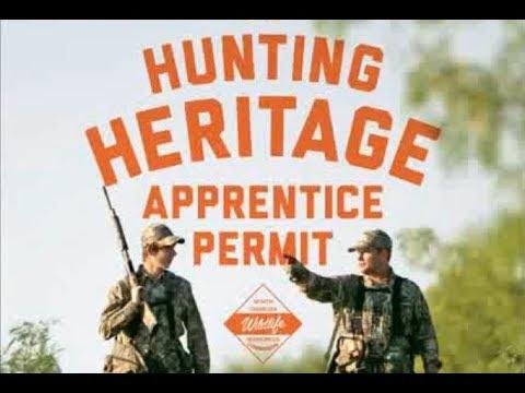 NCWRC Hunting Heritage Apprentice Permit