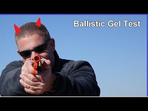 12ga. FLARE vs Ballistic Gel - MOVIE MYTH Tested