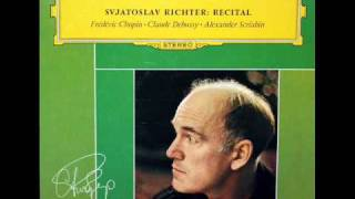 Revolutionary Étude in C minor / Richter, 1962 Recital, Italy:  Op. 10, No. 12 - Chopin, DG