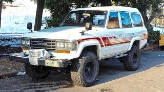 1988 Land Cruiser Turbo Diesel 5-speed 60-Series (USA Import) Japan Auction Purchase Review