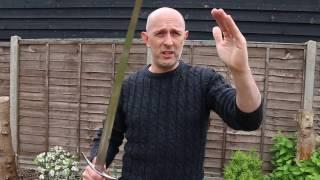 Striking and cutting with swords in martial arts