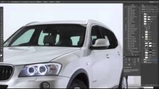 BMW Car Retouching 2015