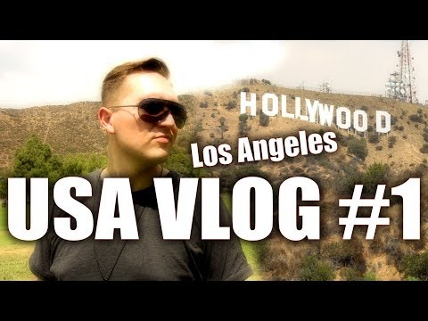 USA Trip Vlog #1- Los Angeles & Hollywood | Marc Sueper | Giveaway