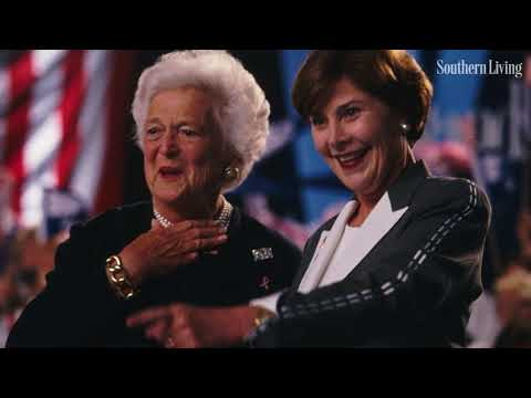 In Moving Speech, Laura Bush Shares What Barbara Bush Taught Her About Life | Southern Living