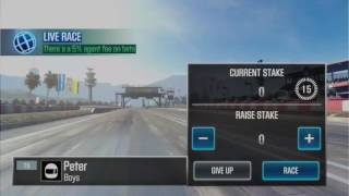 How to win in live races CSR2 trick!