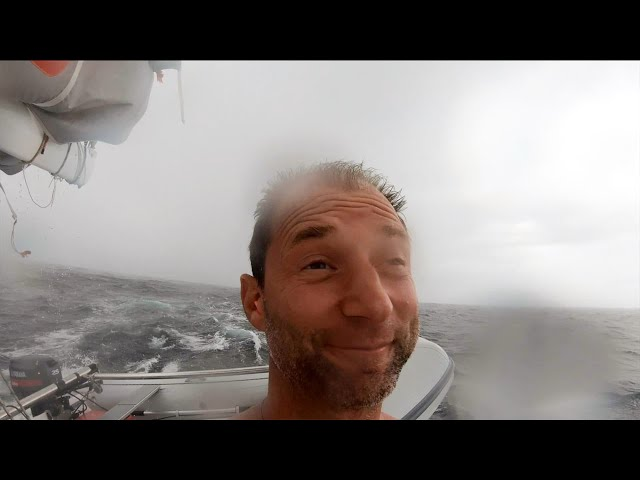 STORMS AND ... MORE STORMS 🌧️⚡Sailing to South America - DAY 2
