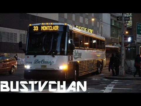 BUS FANNING NJ BUSES NEAR THE PORT AUTHORITY BUS TERMINAL HELLS KITCHEN NY PART 2 OF 2