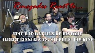 Renegades React to... Epic Rap Battles of History Albert Einstein v. Stephen Hawking