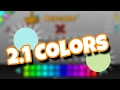 How To Unlock All Geometry Dash 2.1 Colors!