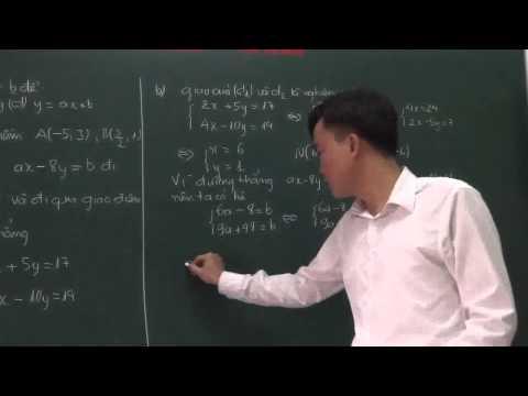 hệ phương trình bậc nhất và các bài toán cơ bản lớp 9