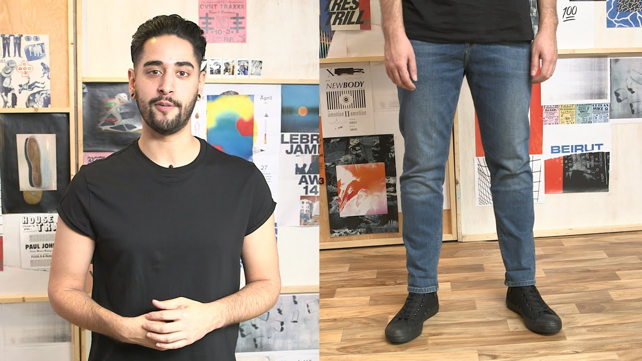 Mens jeans - the different styles and fits | James | ASOS Stylist - YouTube