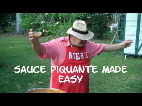 Sauce Piquante Made Easy