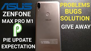 asus zenfone max pro m1 android p update date