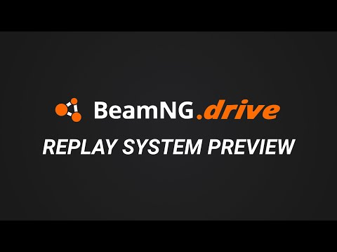 BeamNG.Drive - Replay System Preview