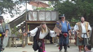Scallwags Pirate Comedy Show KCRF 2011 part1