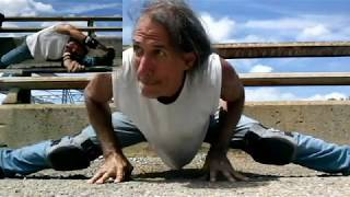 Messiah (2) Heavy Metal Yoga Splits Boxing Workout with HellHammer