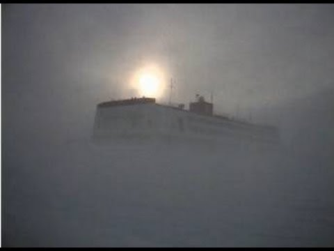 You Have NEVER Seen the Sun Do This! : The Antarctic Sun,  Neumayer Station, Antarctica