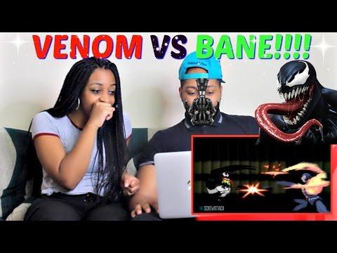 "ScrewAttack! ""Venom VS Bane (Marvel vs DC Comics) | DEATH BATTLE!"" REACTION!!!!"
