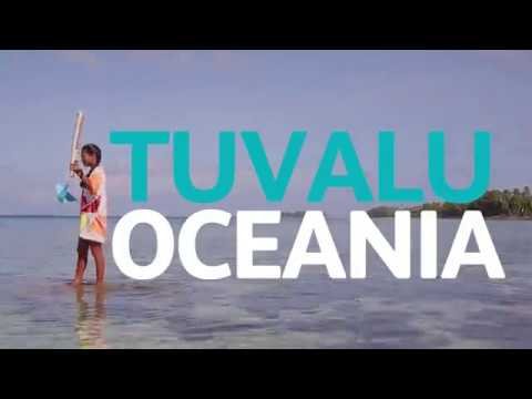 The Queen's Baton visits Tuvalu