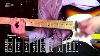 Paramar - Los Prisioneros ( Tab Tutorial & Cover Guitarra )