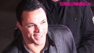 Tony Gonzalez Arrives To The XXX: Return Of Xander Cage Hollywood Movie Premiere 1.19.17