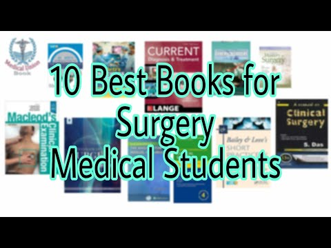 10 Best Books For Surgery Medical Students | Medical Union Book