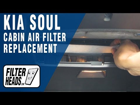 How to Replace Cabin Air Filter KIA Soul