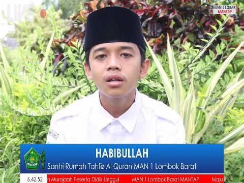 Santri Rumah Al-Qur'an MAN 1 LOmbok Barat