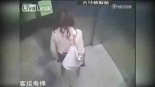 Repeat youtube video สุดจะทน! สาวหมวยถลกกระโปรงปล่อย 'อึ' คาลิฟต์จีน