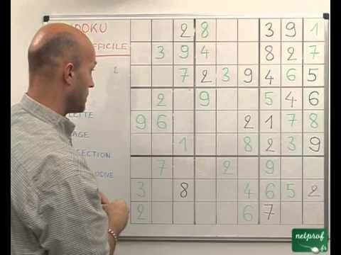 Sudoku. Niveau 3 : difficile