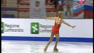 Courtney Hicks - 2013 World Junior Championships - SP