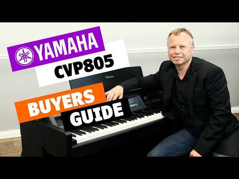 Yamaha CVP805 Digital Piano Buyers Guide - Lots Of Playing!