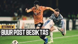 Oskar Buur on playing European football and an emphatic win over Besiktas