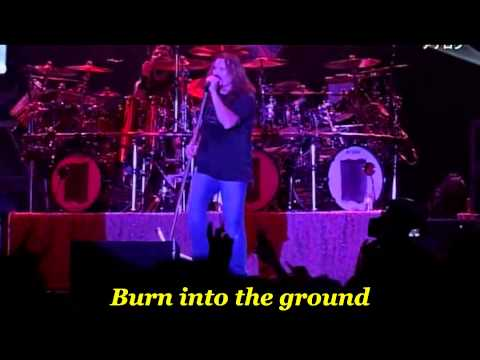 Dream Theater - Wither ( Live ) - with lyrics