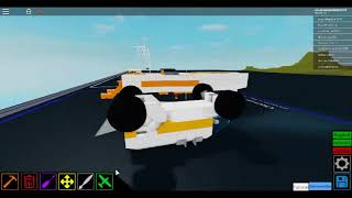 When your boat in roblox plane crazy turns into a plane