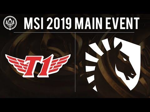 SK Telecom T1 vs Liquid - MSI 2019 Group Stage - SKT vs TL