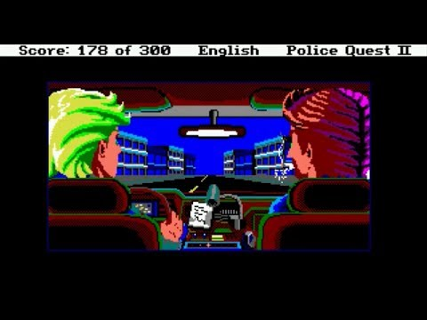 Police Quest II (1989) PC-9801 Complete Playthrough - NintendoComplete