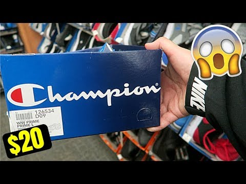 FOUND CHAMPION HYPE SNEAKERS FOR ONLY $20! | VLOGMAS #16