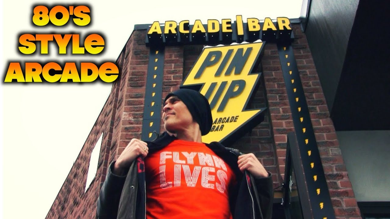 Virtual Tour: Pin Up Arcade Bar - 80's Style Arcade in Waterloo, ON