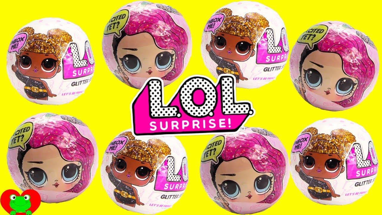 Lol Surprise Dolls Glitter Series Youtube