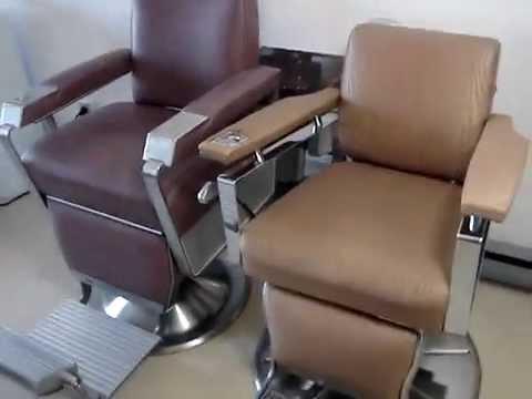 Kochs (Paidar) U0026 Koken Barber Chairs From 50u0027s/60u0027s   YouTube
