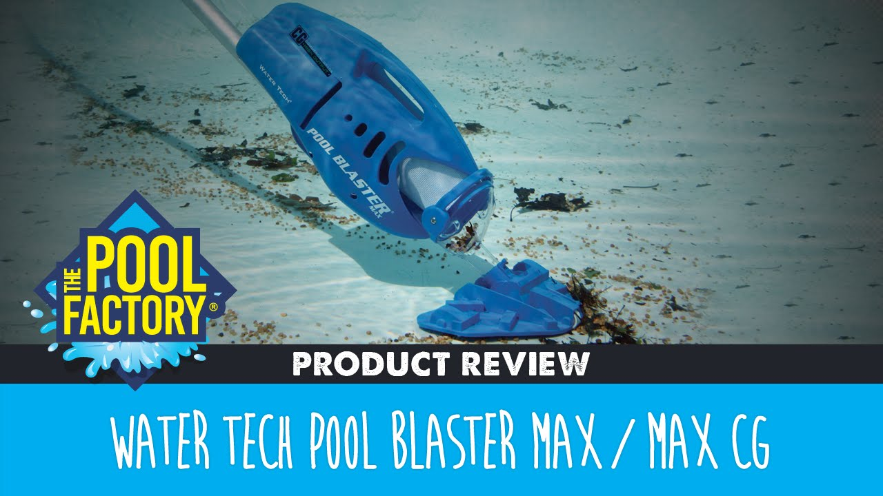 Water tech pool blaster max max cg youtube for Aspirateur piscine youtube