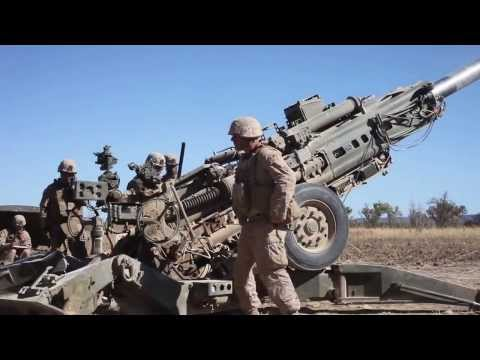M777A2 Howitzer Rapid Fire