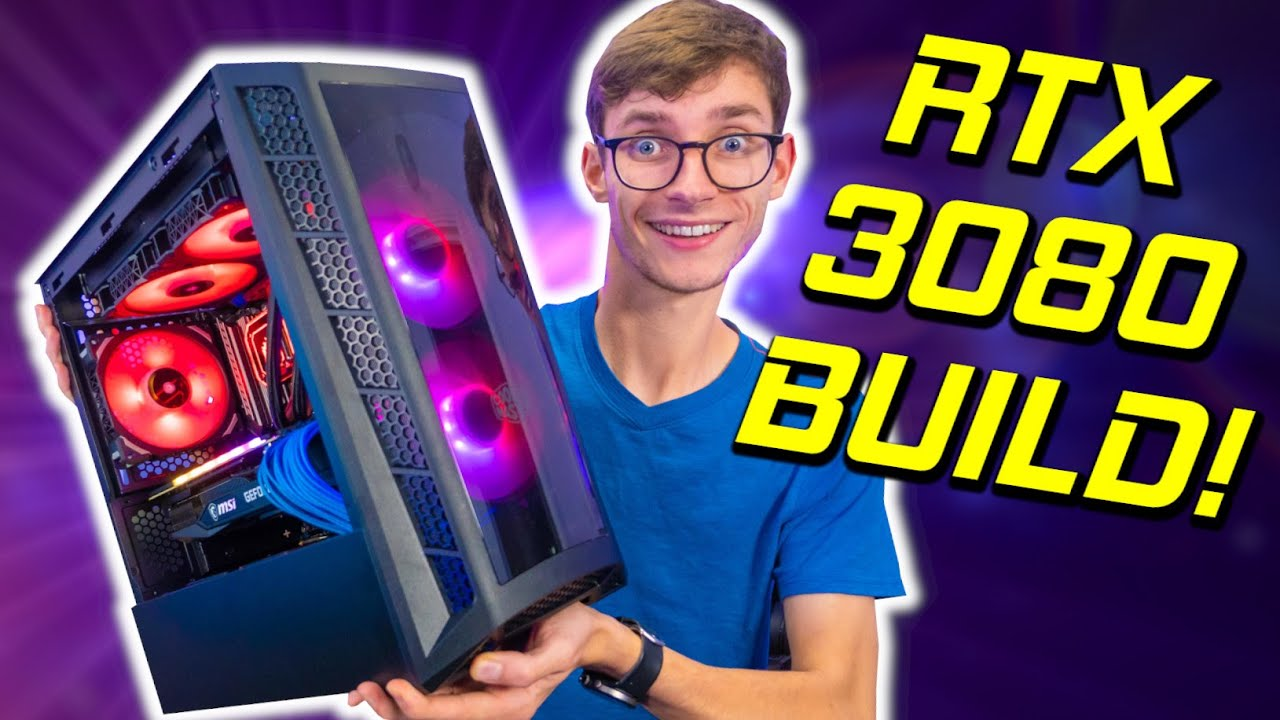 The ULTIMATE RTX 3080 Micro ATX Gaming PC Build 2020! - Ryzen 7 3700X, B550, 4K, MB320L