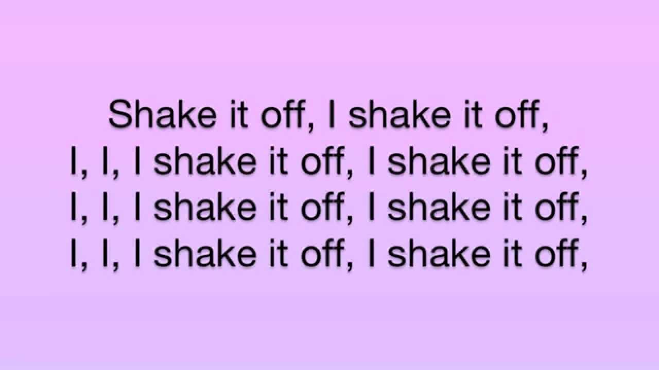 Taylor Swift - Shake It Off [LYRICS] - YouTube