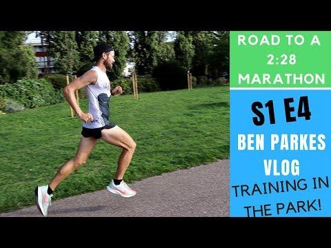 Running Intervals 800m Repeats Training for a 2:28 Marathon vLOG Episode 4!